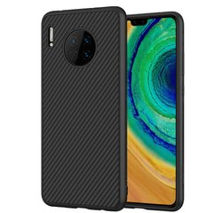 Карбоновая накладка Nillkin Synthetic Fiber series для Huawei Mate 30 Черный