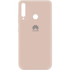 Чехол Silicone Cover My Color Full Protective (A) для Huawei P40 Lite E / Y7p (2020) Розовый / Pink Sand
