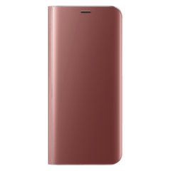 Чехол-книжка Clear View Standing Cover для Realme X2 Pro Rose Gold