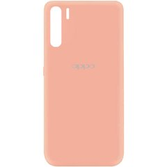 Чехол Silicone Cover My Color Full Protective (A) для Oppo A91 Розовый / Flamingo