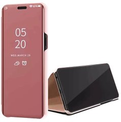 Чехол-книжка Clear View Standing Cover для Samsung Galaxy A72 4G / A72 5G Rose Gold
