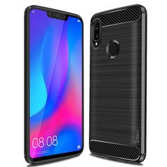 TPU чехол iPaky Slim Series для Huawei P Smart (2019) Черный
