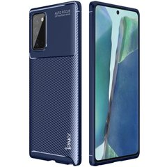 TPU чехол iPaky Kaisy Series для Samsung Galaxy Note 20 Синий