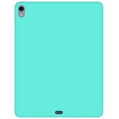 "Чехол Silicone Case Full without Logo (A) для Apple iPad Pro 12.9"" (2018) Бирюзовый / Ocean Blue"